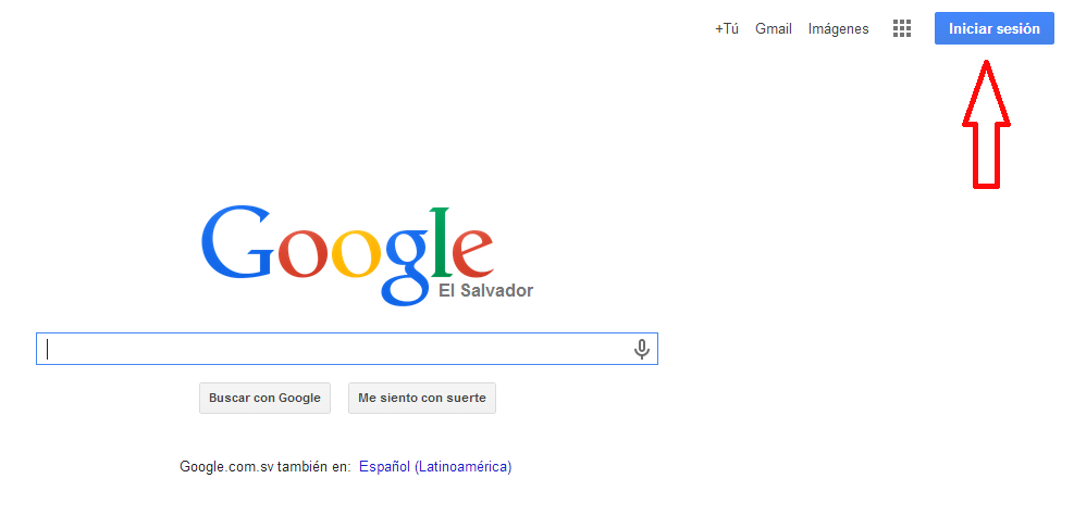 Google iniciar sesión Gmail