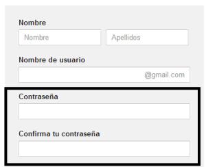cotraseña de Gmail