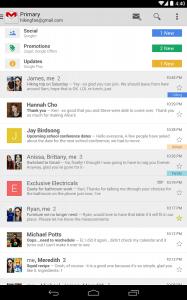 Aplicación Gmail para Android superó mil millones de descargas