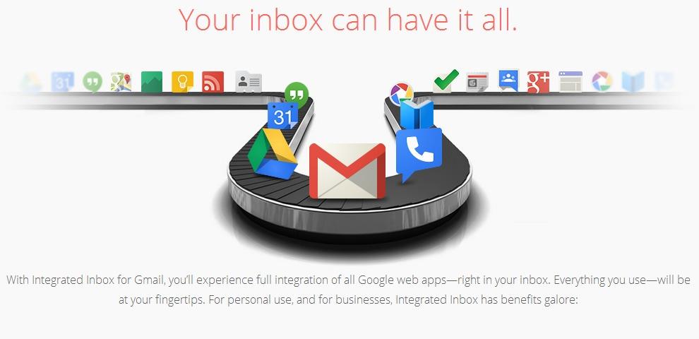 Aplicaciones de Google en Gmail gracias a Firefox