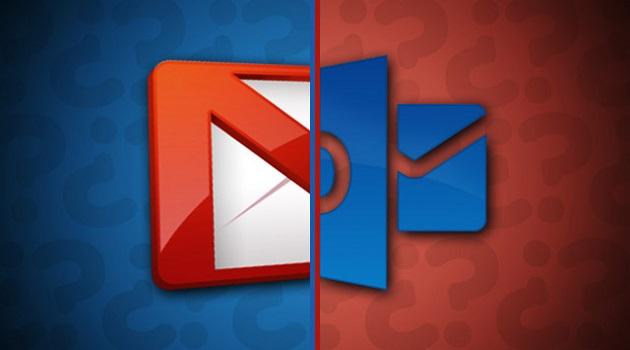 Escogiendo entre el correo electrónico de Gmail y el de Outlook