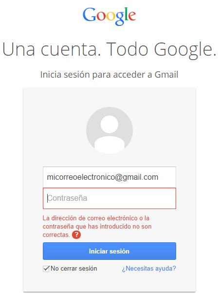 Problemas comunes por los que no se puede acceder a la cuenta de Gmail
