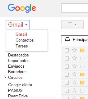 Cómo exportar tus contactos de Gmail2