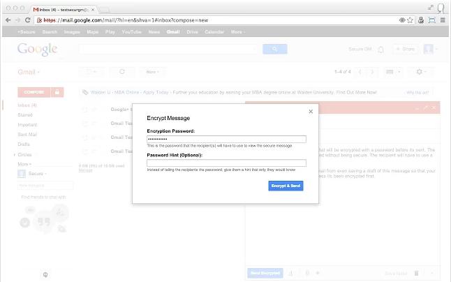 Encriptar tu correo de Gmail es en realidad muy fácil