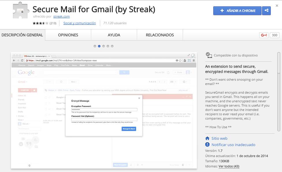 Encriptar tu correo de Gmail es en realidad muy fácil (2)
