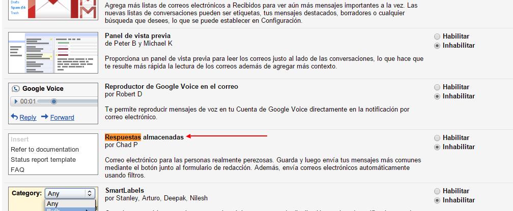 Puedes crear respuestas pre determinadas en tu cuenta de Gmail4